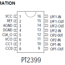 PT2399 Pin Configuration