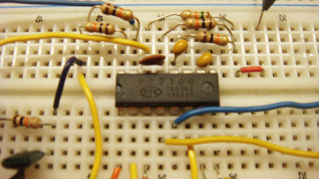 pt2399 ic op amp filters components