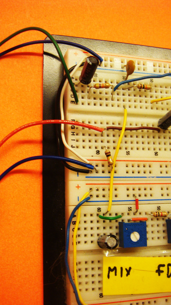 PT2399 Input Output Circuitry