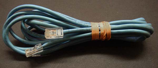 Ordinary Cat5 Ethernet Cable