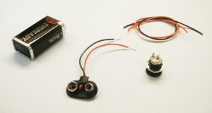 Center Negative Power Supply Components