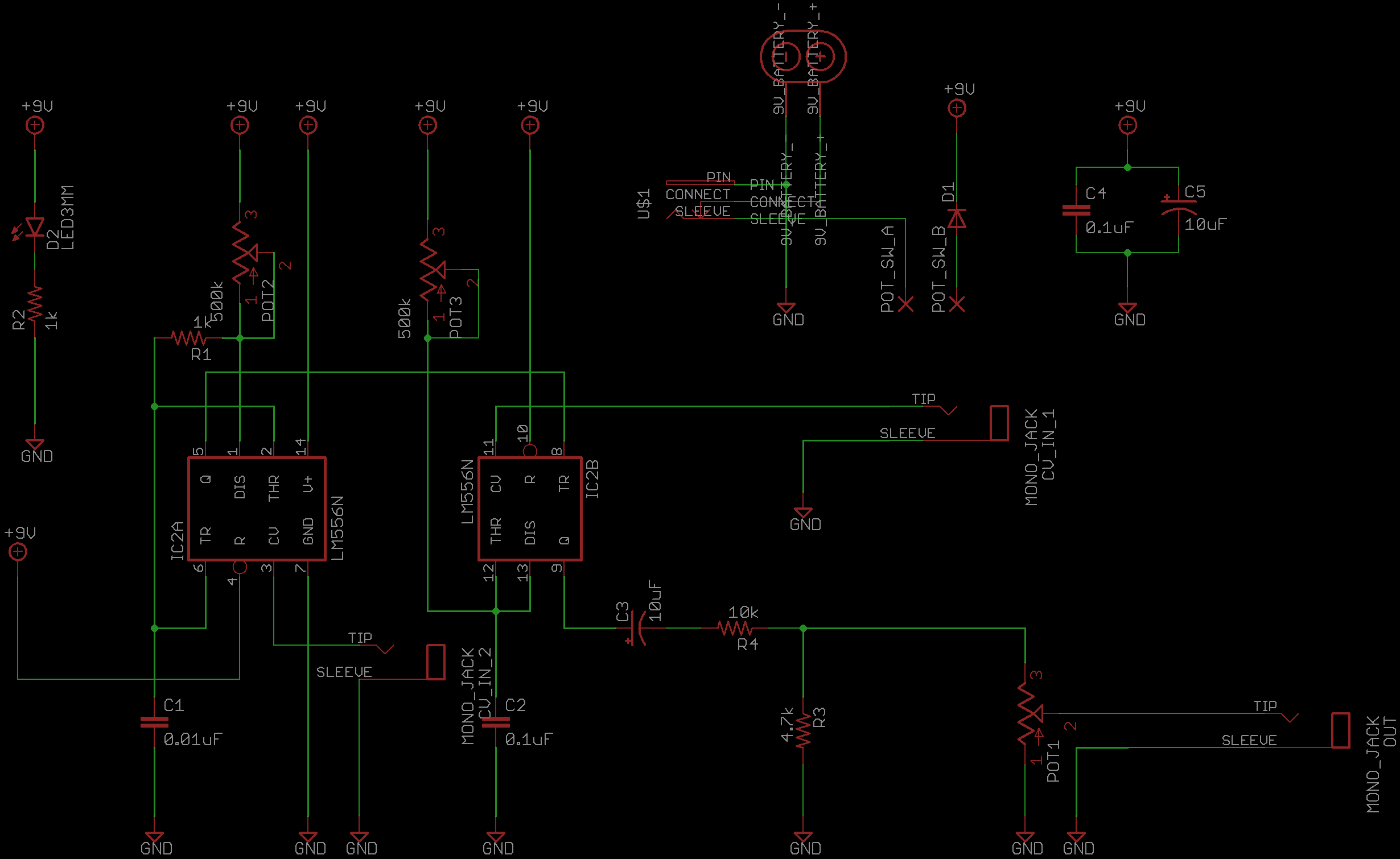Atari Punk Console How It Works Diy Audio Circuits Eagle 4 Post Wiring Diagram Schematic